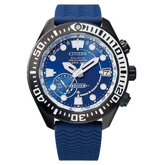 CITIZEN SATELLITE WAVE GPS DIVER